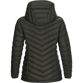 Peak Performance Frost Down Hooded Jas Dames, forest night